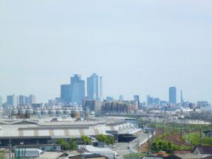 名古屋駅方面の眺め