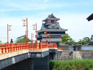清洲城前の橋
