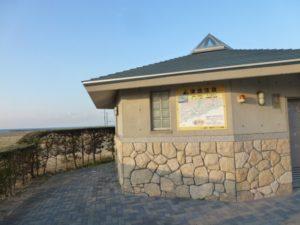釣り場のトイレ