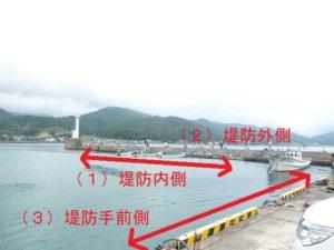 菅浜漁港のポイント