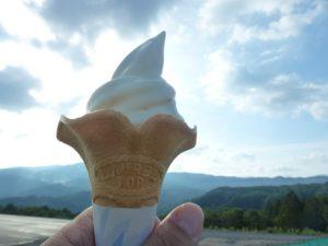 ひるがの高原ソフトクリーム