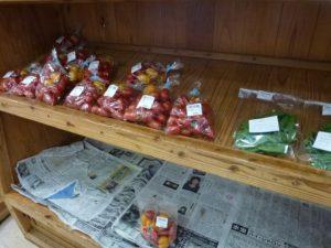 地場野菜の販売