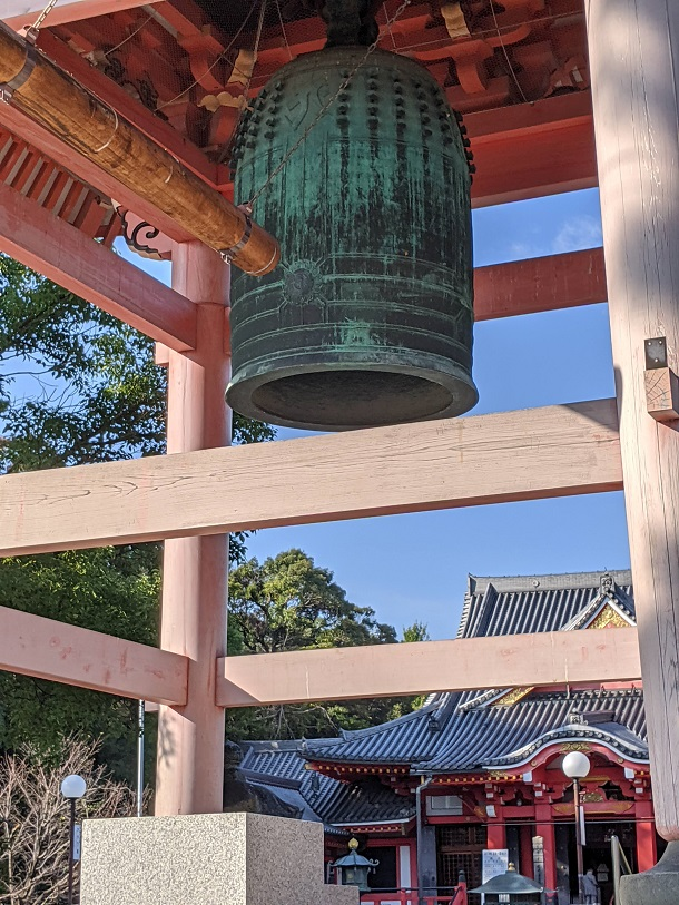 甚目寺観音の梵鐘