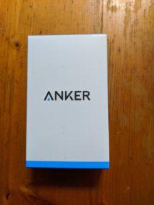 ANKER「ACアダプター」外箱