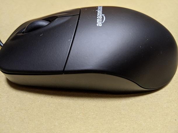 「Amazonベーシックマウス」外観の様子3