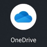 【OneDrive】をタップする
