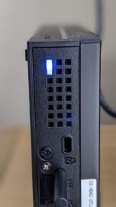 【アイ・オー・データのEX-HDAZ-UTL4K】背面LED