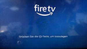 【Fire TV Stick設定】電源を入れる
