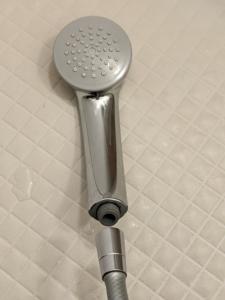 【シャワーヘッド交換】シャワーヘッドを取り外した状態