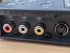【アナレコGV-SDREC】コンポジットビデオ入力端子