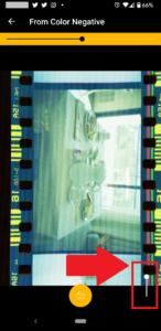 【KODAK Mobile Film Scanner】ズーム調整