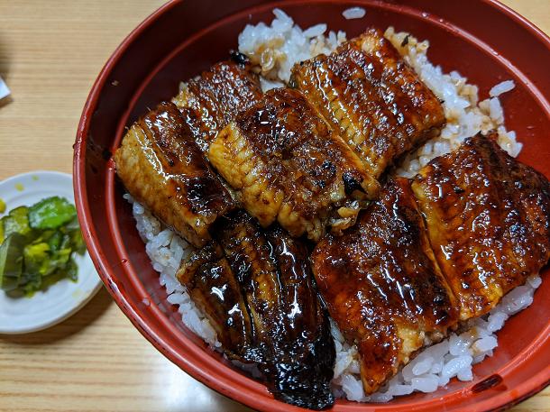 【川魚料理 魚勝】うなぎ丼(上)